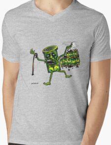 40 s granpa Mens V-Neck T-Shirt
