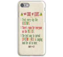 Buddy the Elf! The Code of Elves iPhone Case/Skin