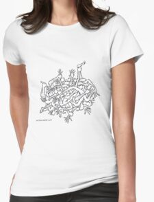 arms and legs Womens Fitted T-Shirt