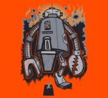Robot Attack Kids Tee
