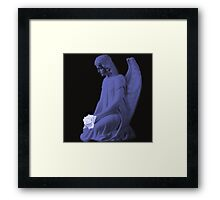 (¯`'·.¸(♥)¸.·'´¯) I Believe There Are Angels Amongst Us (¯`'·.¸(♥)¸.·'´¯)  Framed Print