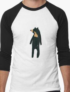 Sun and Honey Bear Men's Baseball ¾ T-Shirt