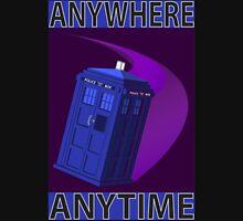 The TARDIS, Anywhere, Anytime T-Shirt