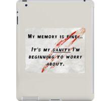 Sanity of the Werewolf iPad Case/Skin
