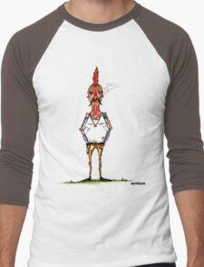 bobby chickenson Men's Baseball ¾ T-Shirt