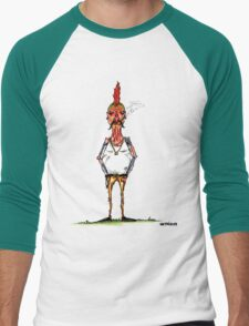 bobby chickenson Men's Baseball ¾ T-Shirt