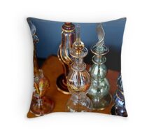 Middle Eastern Glass Throw Pillow