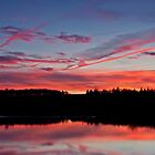 River Tees Sunset by mountainsandsky