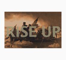 Rise Up Washington Crossing Delaware One Piece - Short Sleeve