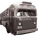New York City Vintage Bus by bloug99