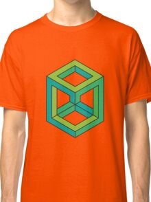 Impossible Shapes: Cube Classic T-Shirt