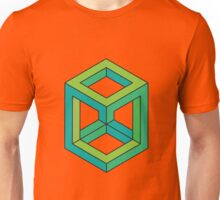 Impossible Shapes: Cube Unisex T-Shirt