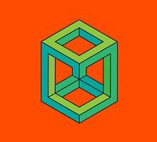 Impossible Shapes: Cube Unisex T-Shirt