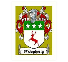O'Dogherty (Donegal)  Art Print