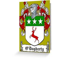 O'Dogherty (Donegal)  Greeting Card