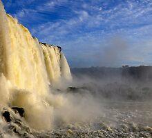 Iguazu falls by ansoc86