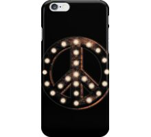 Marquee Peace iPhone Case/Skin