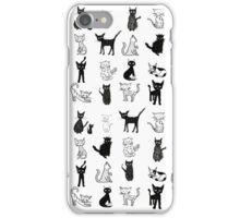 Cats, cats, cats. iPhone Case/Skin