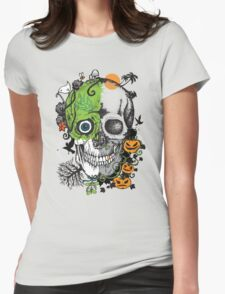 The Seasons Of My Mind Womens Fitted T-Shirt