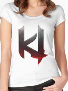 Killer Instinct Logo Women's Fitted Scoop T-Shirt