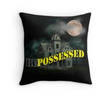 Haunted Mansion - Repossessed Throw Pillow