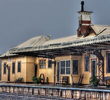 Tocumwal Train Station by Leigh Monk