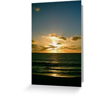 Sunset Twenty-two Greeting Card