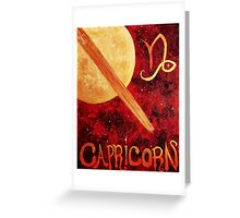 Capricorn Original Greeting Card