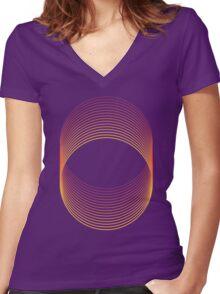 Slinky Women's Fitted V-Neck T-Shirt