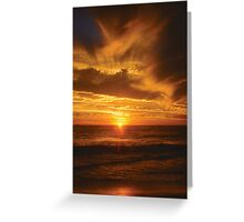 Sunset Twenty-one Greeting Card