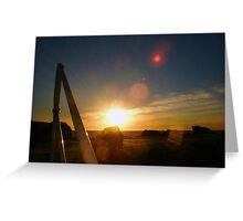 Sunset Eighteen Greeting Card