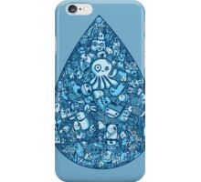 Droplet Doodle iPhone Case/Skin