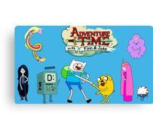 Adventure time arwork Canvas Print