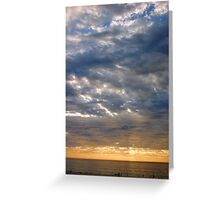 Sunset Seventeen Greeting Card