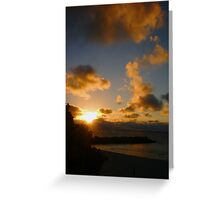 Cottesloe Sunset Six Greeting Card