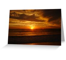 Sunset Nineteen Greeting Card