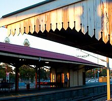 Sunset Claremont Station by Robert Phillips