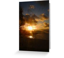 Cottesloe Sunset Five Greeting Card