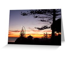 Cottesloe Sunset Two Greeting Card