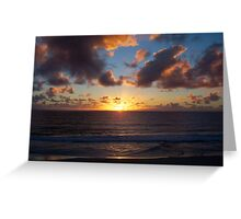 Sunset Eight Greeting Card