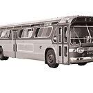 Montreal vintage bus 60's by bloug99