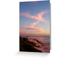 Sunset Five Greeting Card