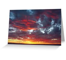 Sunset One Greeting Card