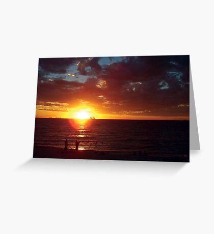North Cottesloe Bathers Greeting Card
