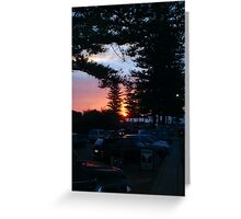 Cottesloe Sunset One Greeting Card