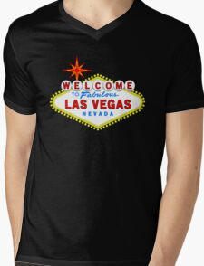 Welcome to Fabulous Las Vegas Mens V-Neck T-Shirt