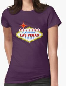 Welcome to Fabulous Las Vegas Womens Fitted T-Shirt