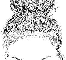 Simple Design - Girl Sketch by SassyBurger