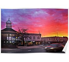 WInter Sunrise, Ballarat Poster