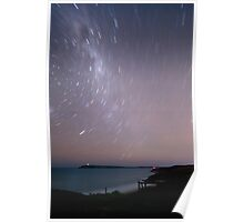 Cape Woolamai Star Trails Poster